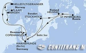 Germany, Sweden, Finland, Russian Federation, Denmark, Norway