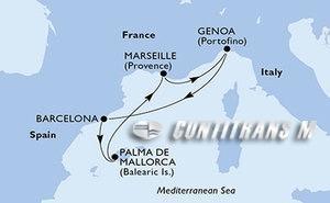 France, Italy, Spain