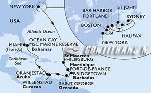 United States, Canada, St. Maarten, Martinique, Barbados, Grenada, Aruba, Bahamas