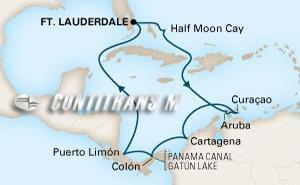 Panama Canal II on Zuiderdam