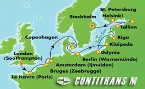 Scandinavia, Russia, & Amsterdam: Ultimate Baltic (SOU/STO)