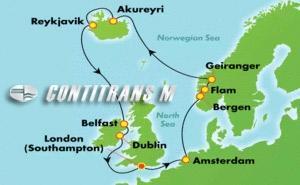 Iceland, Ireland, & Norway: Mystical Fjords (SOU/SOU)