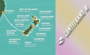 JR 15-NIGHT NEW ZEALAND INTENSIVE VOYAGE