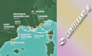 Западно Средиземноморие Франция, Италия