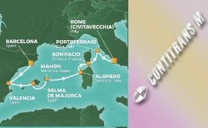 Западно Средиземноморие Испания, Франция, Италия