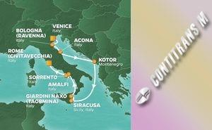 JR 9-NIGHT ITALY INTENSIVE VOYAGE