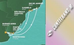 PR 12-NIGHT CARNIVAL IN RIO VOYAGE