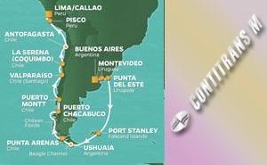 PR 21-NIGHT ARGENTINA, CHILE & PERU VOYAGE