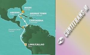 PR 13-NIGHT PERU, PANAMA & COLOMBIA VOYAGE