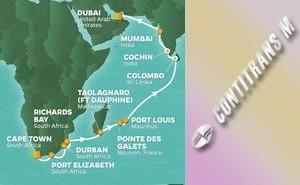 QS 26-NIGHT INDIAN OCEAN ADVENTURE VOYAGE