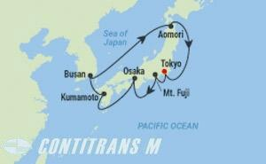 ML 10 NIGHT JAPAN & KOREA CRUISE