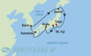 ML 10 NIGHT JAPAN & KOREA CRUISE