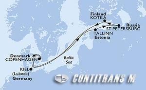 Germany, Denmark, Estonia, Russian Federation, Finland