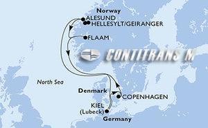 Germany, Denmark, Norway