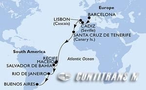 Spain, Portugal, Brazil, Argentina