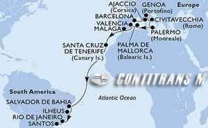 Spain, France, Italy, Brazil