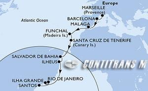France, Spain, Portugal, Brazil