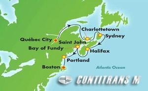 Canada & New England - Boston (QUE/BOS)
