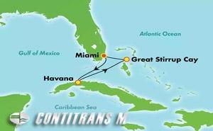 CUBA (OVERNIGHT) & BAHAMAS (MIA/MIA)