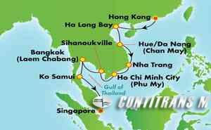 Asia - South East (HKG/SIN)
