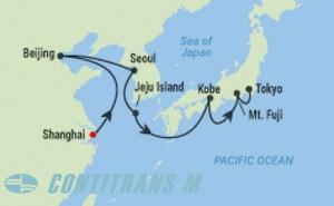 ML 13 NIGHT CHINA, SOUTH KOREA, JAPAN