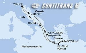 Italy, Greece, Croatia