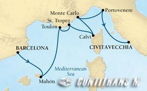 Rivieras & Rome on Odyssey