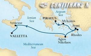 Greek Isles & Malta on Encore