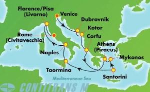 Greek Isles & Italy (VCE/CIV)