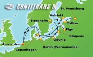Scandinavia, Russia, & Amsterdam: Ultimate Baltic (AMS/AMS)