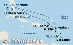 Eastern Caribbean Voyager on Crown