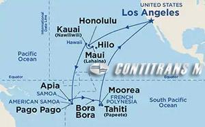 Hawaii, Tahiti & Samoa 2020 on Emerald