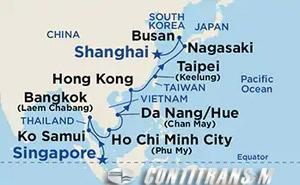 Southeast Asia & China I on Sapphire