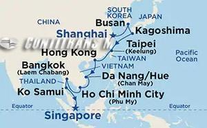Southeast Asia & China II on Sapphire