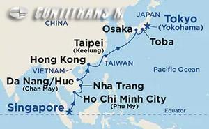 Southeast Asia & Japan 14 day on Diamond