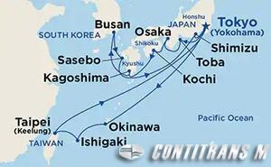 Southern Islands & Kyushu/Shikoku on Diamond