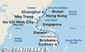 Asia & Australia on Majestic