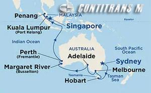 Southern Australia & Asia 19 day on Majestic