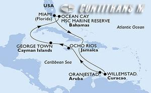 United States, Aruba, Jamaica, Cayman Islands, Bahamas