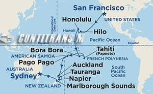 Hawaii, Tahiti & South Pacific Crossing 26 day on Golden
