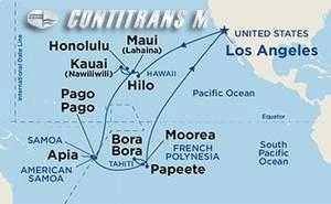 Hawaii, Tahiti & Samoa on Island