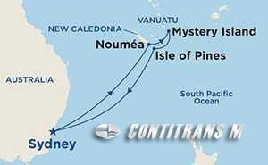 New Caledonia & Vanuatu on Ruby