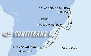 Argentina, Brazil