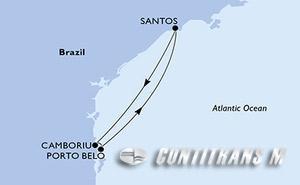 Santos, Camboriu, Porto Belo, Santos