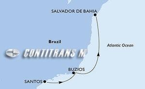 Santos, Buzios, Salvador