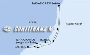 Santos, Buzios, Salvador, Ilha Grande, Santos