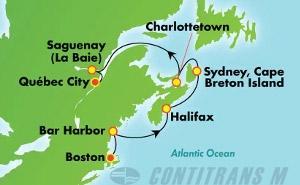 Canada & New England - Boston (BOS/QUE)