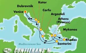 Greek Isles & Italy (VCE/VCE)
