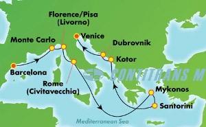 Greek Isles & Italy (BCN/VCE)