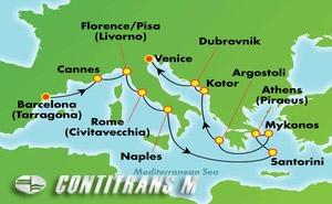 Greek Isles & Italy (TAR/VCE)